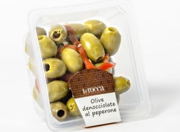 Pitted Olives with Pepper