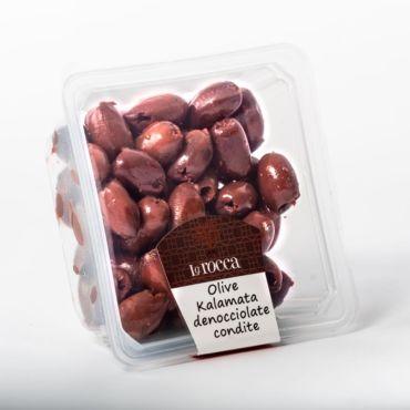Olive Kalamata denocciolate condite