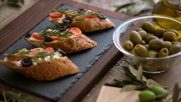 Tomato and Olive Ciabatta