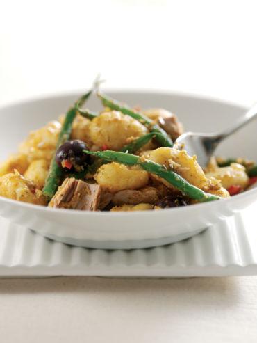 Insalata di patate tonno olive e fagiolini