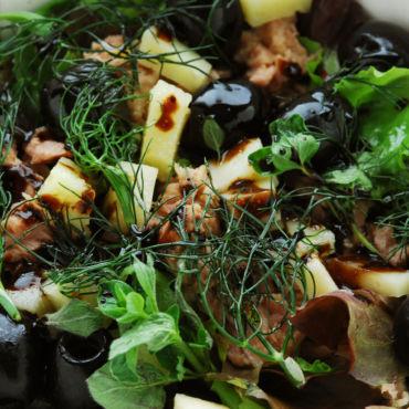Insalata di tonno pecorino e olive