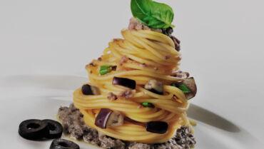 Mediterranean-Style Spaghetti