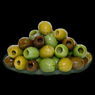Olive mix di Sicilia denocciolato