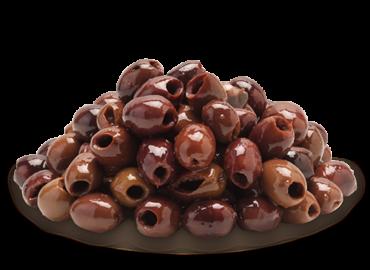 Olive nere Leccino denocciolate